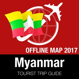 Myanmar Tourist Guide + Offline Map