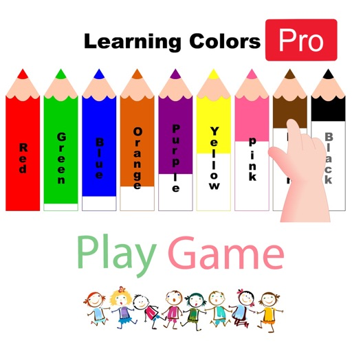 Learnings Colors for Kids Pro iOS App