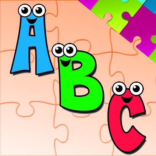 Alphabet A-Z Animals Jigsaw Puzzles for kids application logo