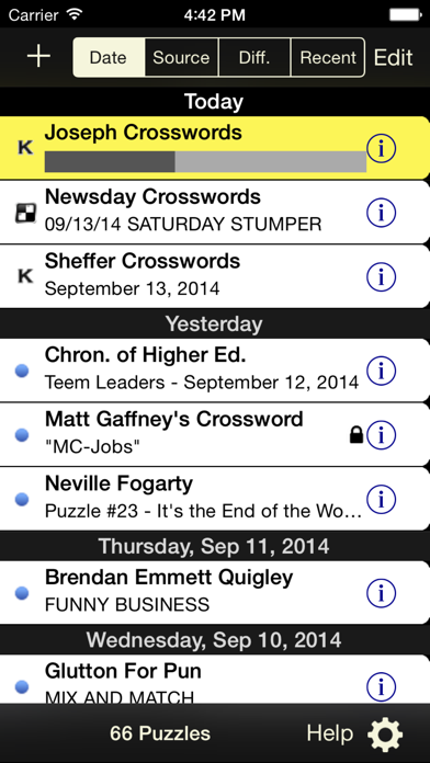 Crossword Light screenshot two