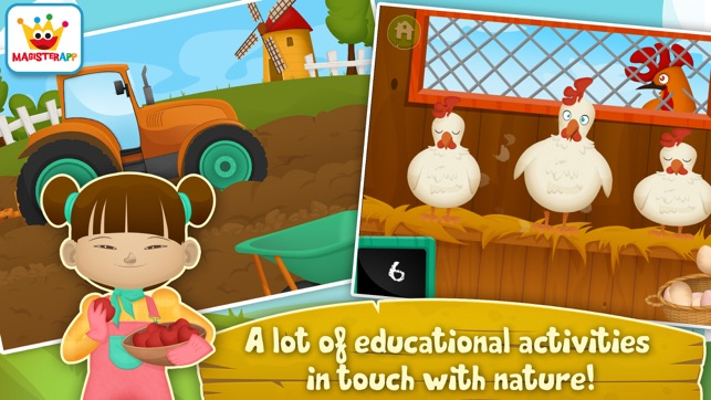 Dirty Farm: Animals & Games for toddlers and kids on the App Store