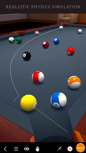 Pool Break 3D Billiards 8 Ball, 9 Ball, Snooker Screenshot