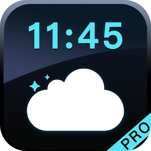Weather Clock Pro-Simple and Beautiful Alarm Clock