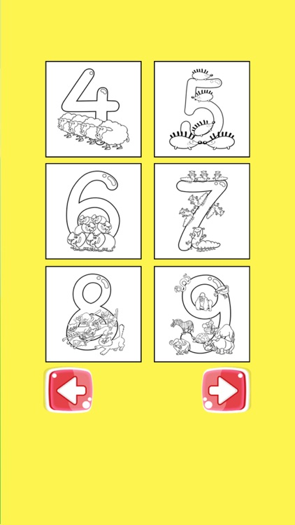 ABC 123 Coloring Book