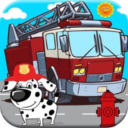 Fireman Games! Fire-Truck & Fire Fighter Game Free