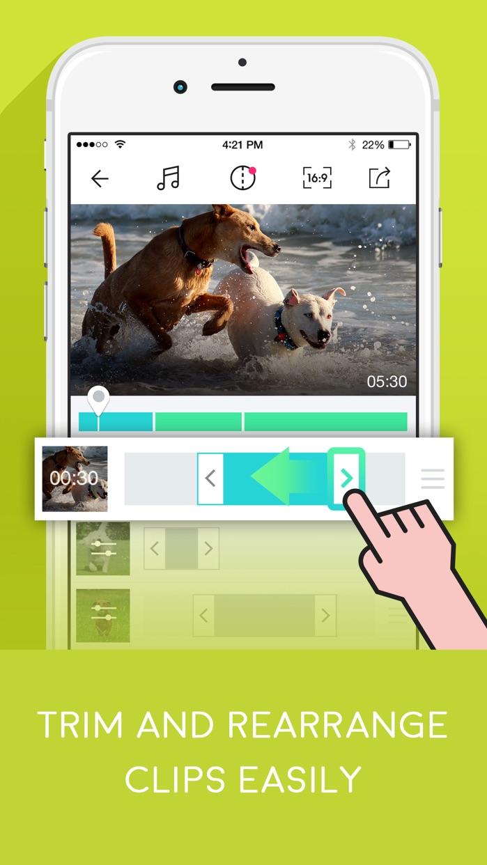 VidClips - Perfect Movie Maker Screenshot