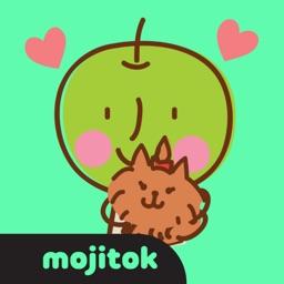 AppleBak & Omji Stickers
