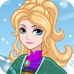 la reine des glaces jeux de habillage de fille