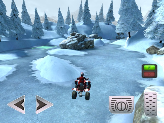 ATV Quad Bike Snow Parking Simulator 2017 screenshot 10