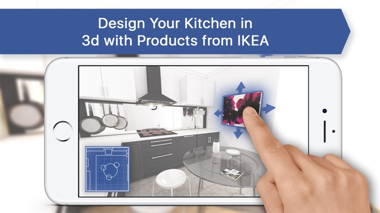 3d kitchen design for ikea by leonid evstafev for Ikea design app