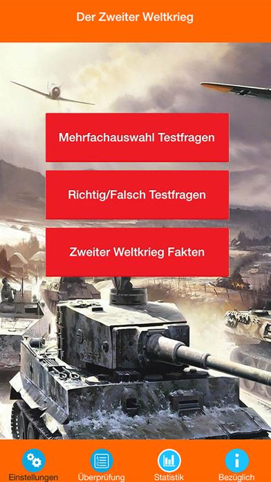 Der Zweite Weltkrieg Quiz screenshot 1