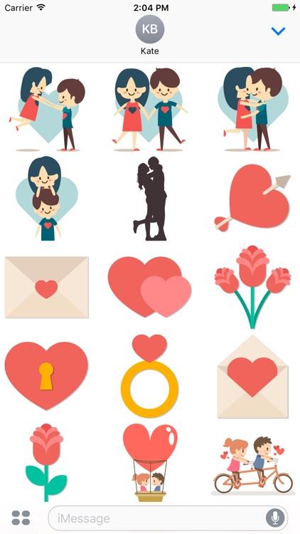 Love stickers pack screenshot-4