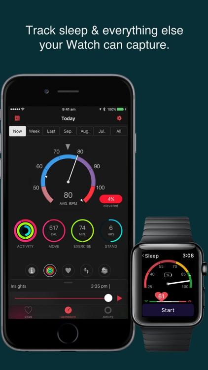 HeartWatch. Heart & Activity screenshot-3