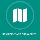 Sao Vicente e Granadinas : Off-line GPS Navigation icon