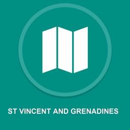 St Vincent and Grenadines : Offline GPS Navigation