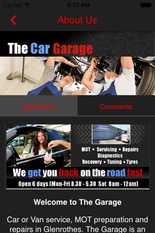 The Garage Glenrothes - náhled