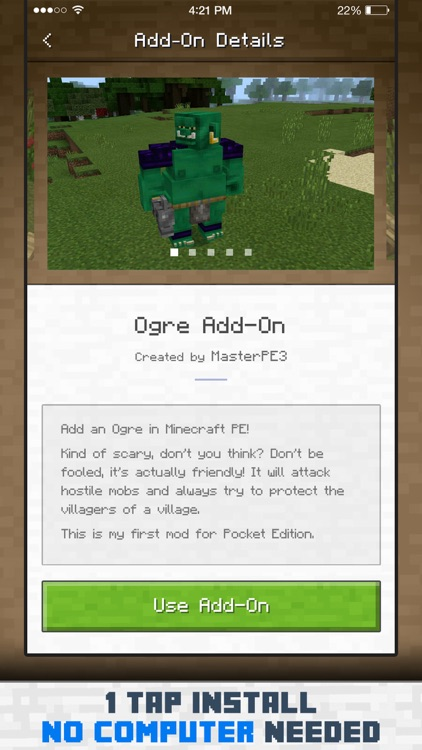 Add-Ons for Minecraft PE