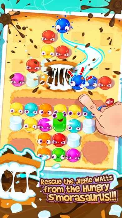 JIGGLE WATTS -JELLY MATCH GAME screenshot two