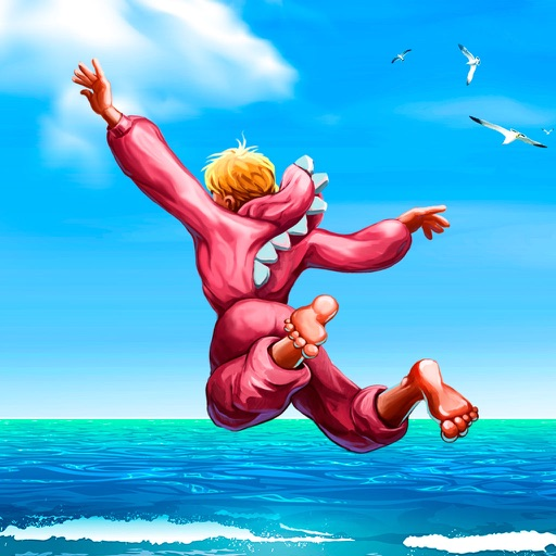 Cliff Flip Diving 2D: Swimming Simulator Full