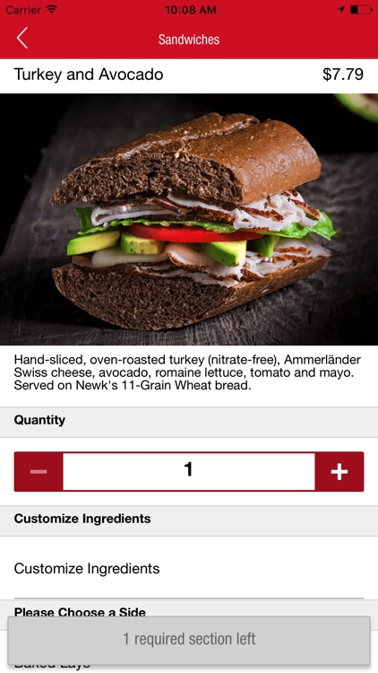 Newk's Eatery Ordering screenshot-2