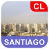 サンティアコ、チリ オフラインマッフ - PLACE STARS