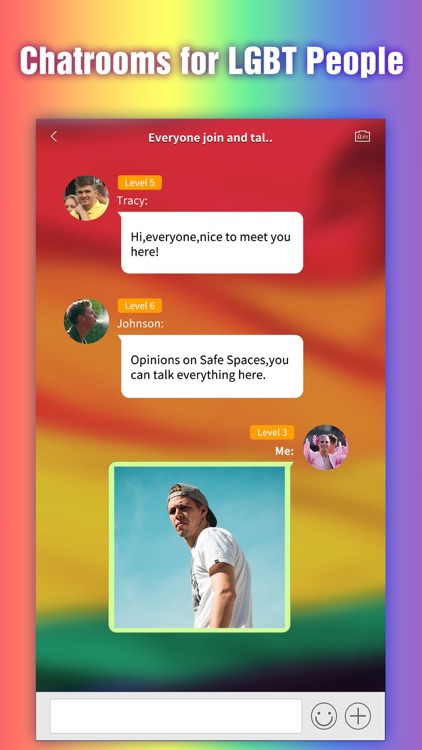 LGBT Tribie - Chatroom, Group & Dating