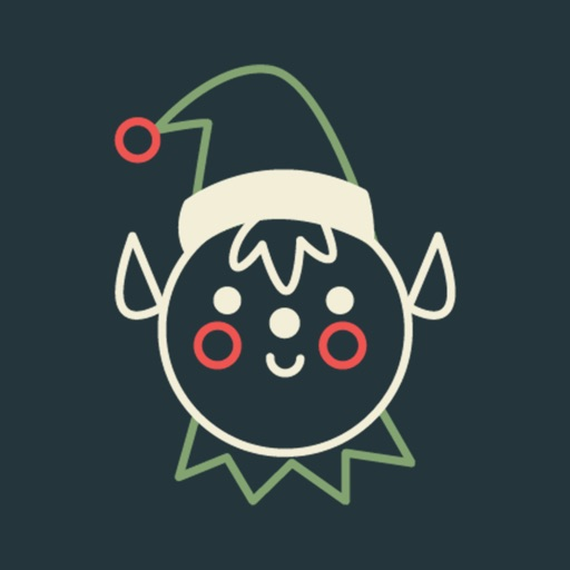 Happy Christmas Animated Sticker