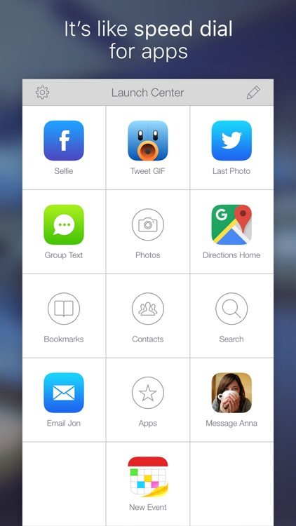 Launch Center Pro - Shortcut launcher & workflows screenshot-3