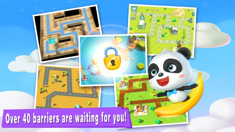 Little Panda's  Maze Adventure screenshot-4