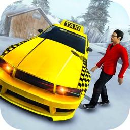 Modern Crazy Cab Taxi Driver : Hill Driving Sim