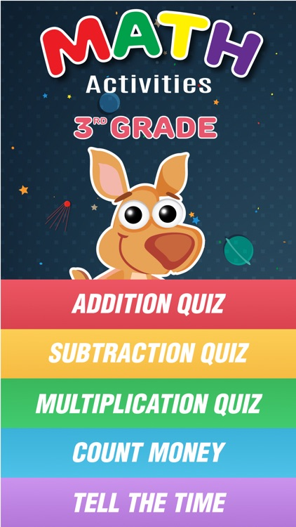 Kangaroo 3rd grade math operations curriculum