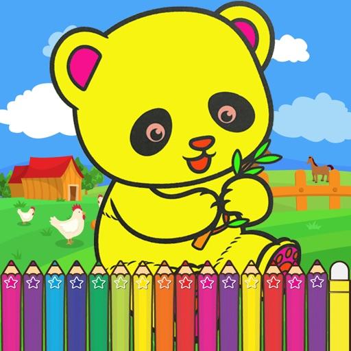 Panda Coloring Games for kids by Kammanee Thamhin
