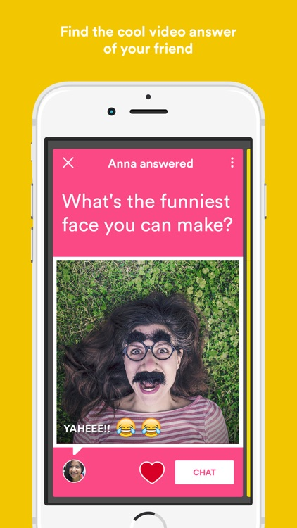 VIQA - ask questions & get friends' video answers by Cinnamon
