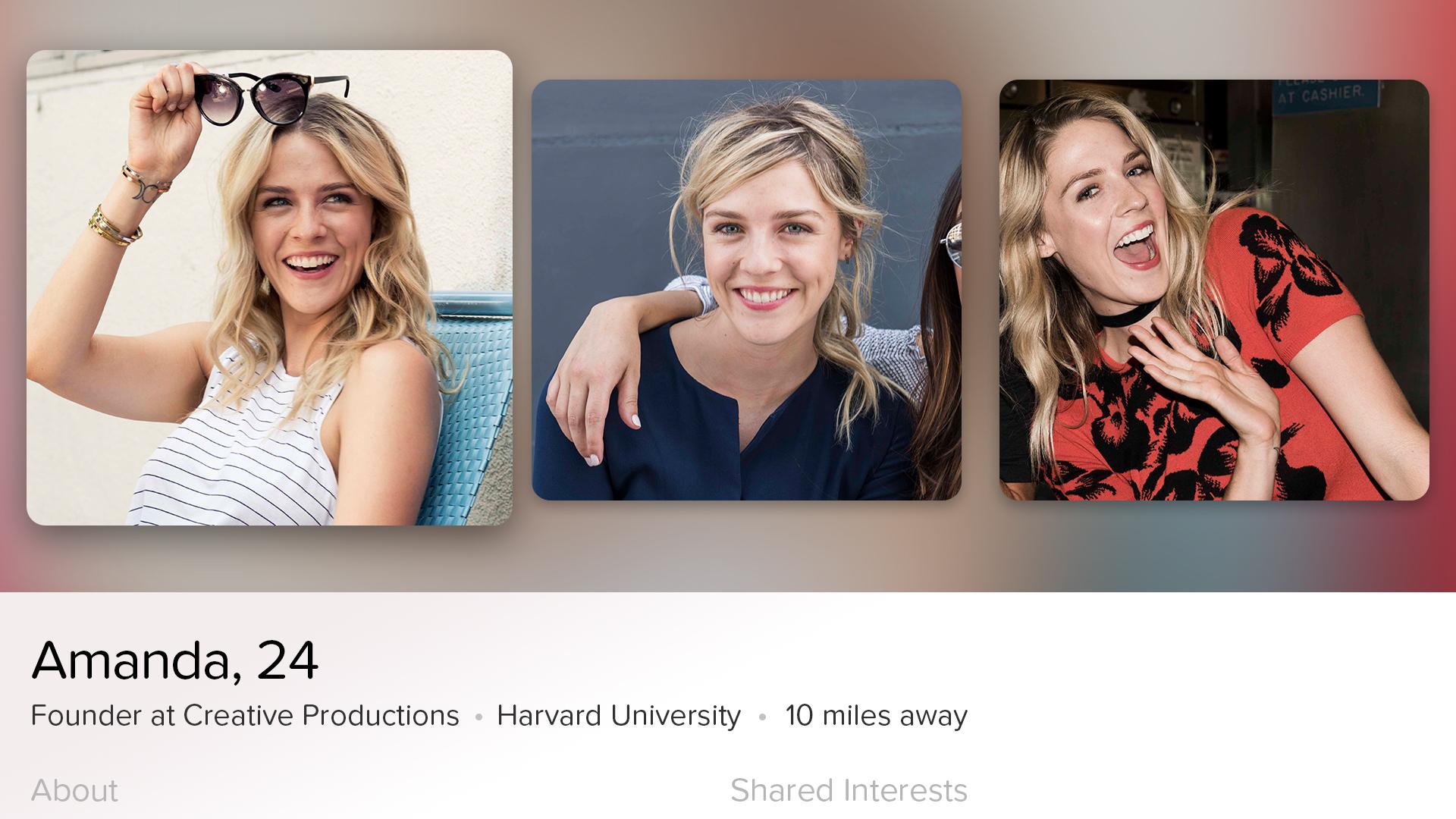 Tinder - Dating New People screenshot 8