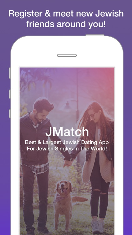 Jewish Dating App for Jewish Men and Women Singles