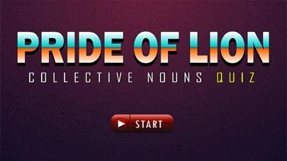 Pride of Lions (Collective Nouns Quiz)