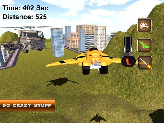 Fast Flying Robot Motorcycle: Drone Simulator   App Price Drops