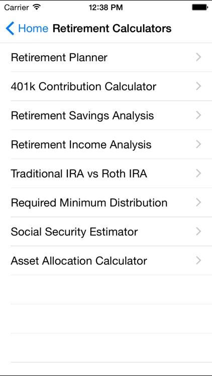 EZ Financial Calculators Pro screenshot-3