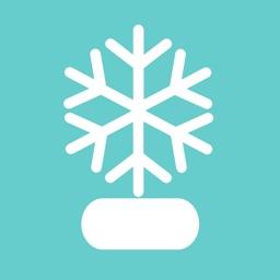 Christmas Stickers - Send An Animated Snow Globe