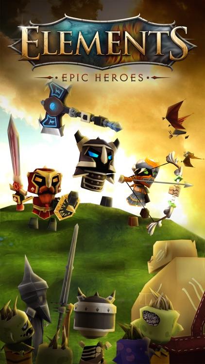 Elements: Epic Heroes screenshot-0