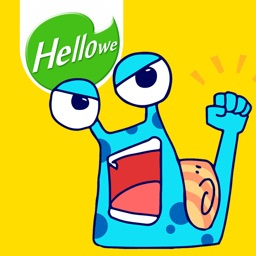 Hellowe Stickers: Mr Snail