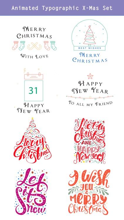 Happy Christmas Set - Animated