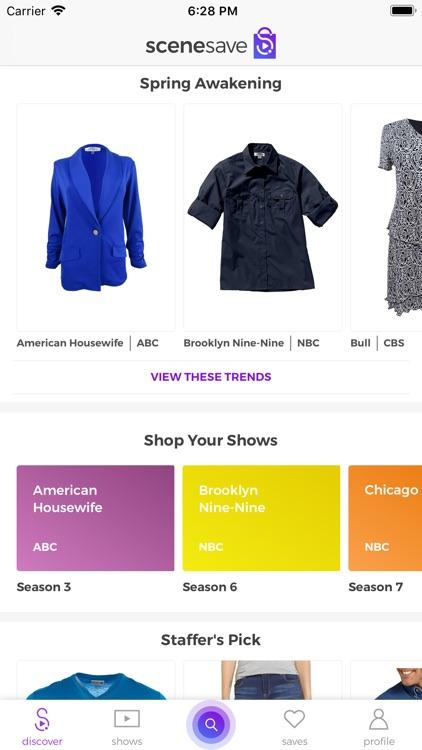 SceneSave: Shop Your Shows screenshot-3