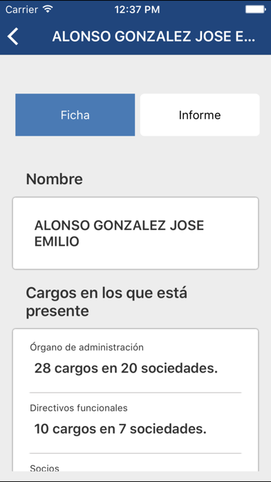 点击获取Buscador de Empresas eInforma