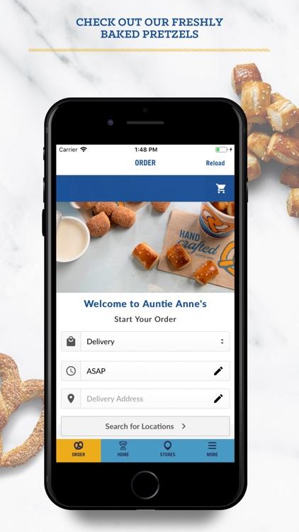 Auntie Anne's Pretzel Perks screenshot-3