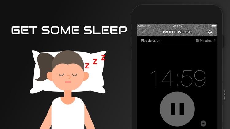 White Noise Baby Calming Sound screenshot-6