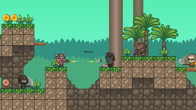 Animal Force: Jump N' Gun Game screenshot-3