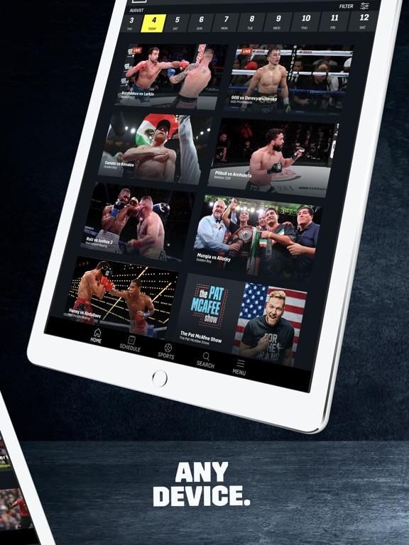 DAZN: Live Boxing, MMA & MLB screenshot