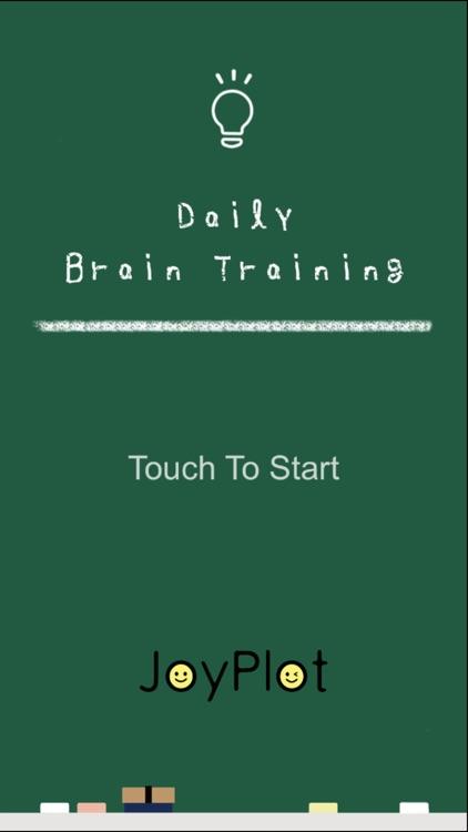 Daily Brain Training