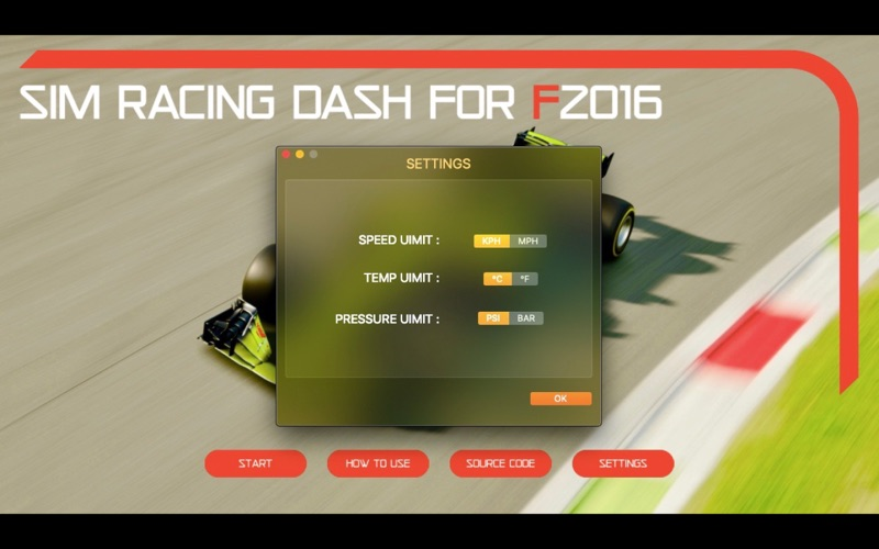 Sim Racing Dash for F2016 screenshot 8